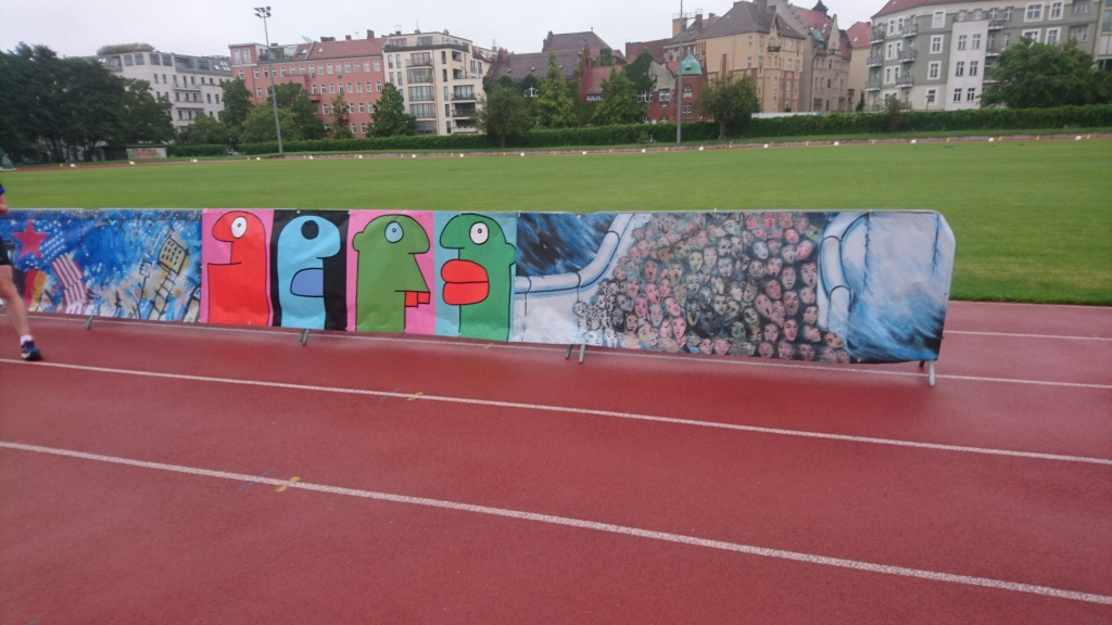 100Meilen Berlin Der Mauerweglauf Staffel-Wettkampf