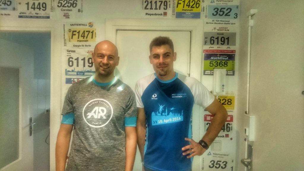 Berlin Marathon 2016 Marathonvorbereitung