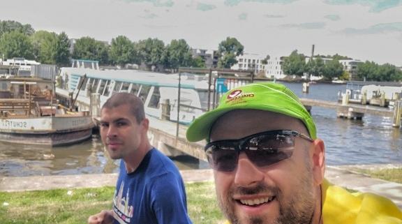 Ausdauer-Coaches mit Athlet Sascha, Laufen, Marathontraining