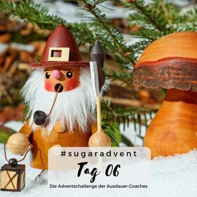 Zuckerfreie Ernährung - Weihnachtszeit Räuchermännchen