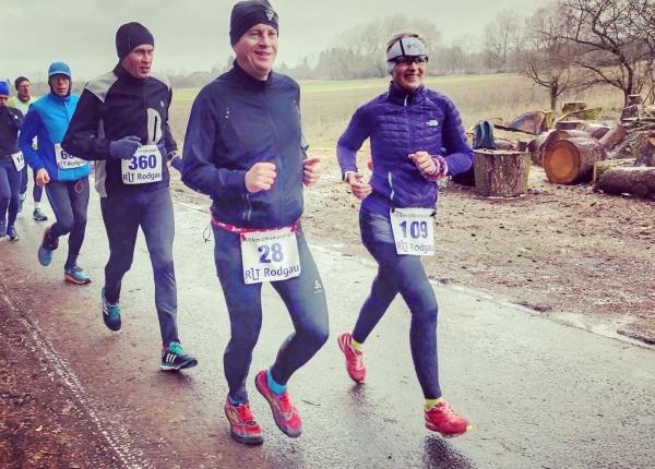 Ultramarathon Rodgau 50k - Fortuna Düsseldorf Triathlon, Hannah und Thorsten Firlus