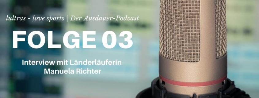 Folge 03 // LULTRAS love sports // Der Ausdauerpodcast mit Hannah und Carsten