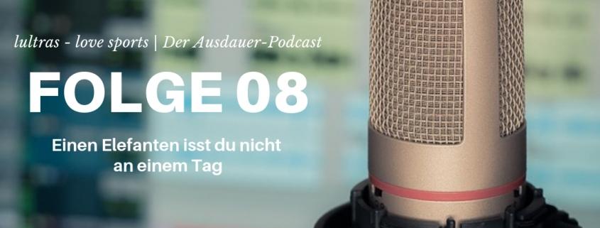 Folge 08 // LULTRAS love sports // Der Ausdauerpodcast mit Hannah und Carsten