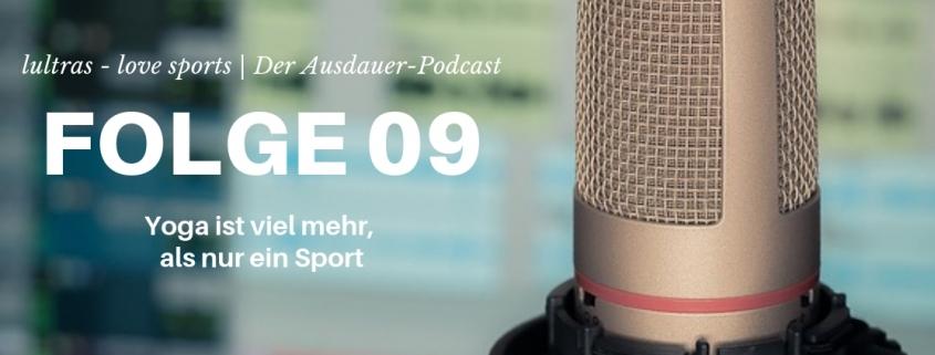 Folge 09 // LULTRAS love sports // Der Ausdauerpodcast mit Hannah und Carsten