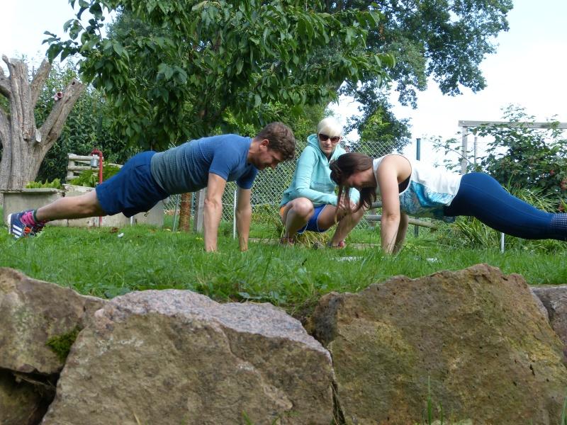 Beispiel Personal Training Ausdauersport Stabitraining