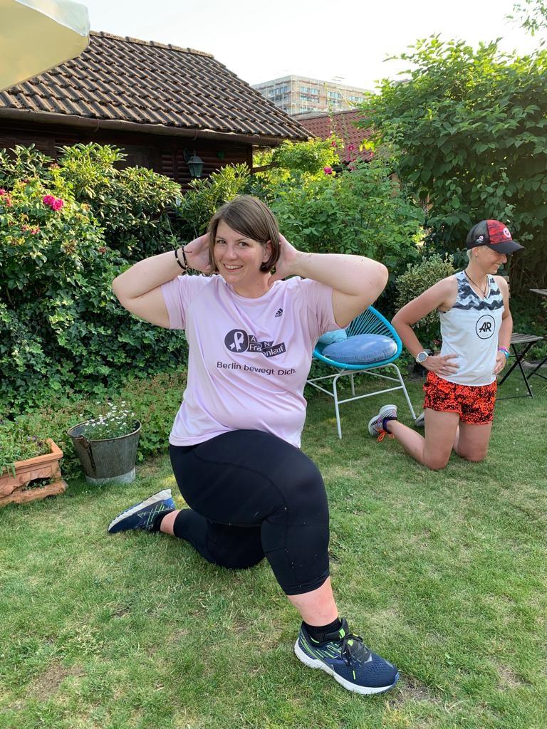 Gastbeitrag - Elvira Ernst - Läuferin beim 261 Lauftraining mit Hannah