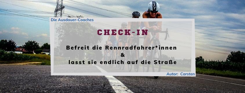 Check-In - Eine Kolumne über Ausdauer-Sport - Folge 03