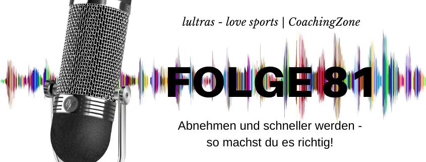 LULTRAS - love sports - Der Ausdauer-Podcast mit Hannah und Carsten - Folge 81
