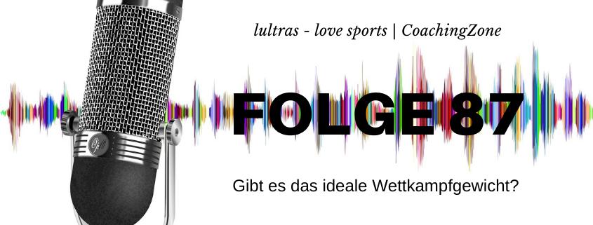 LULTRAS - love sports - Der Ausdauer-Podcast mit Hannah und Carsten - Folge 87