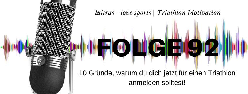 LULTRAS - love sports - Der Ausdauer-Podcast mit Hannah und Carsten - Folge 92