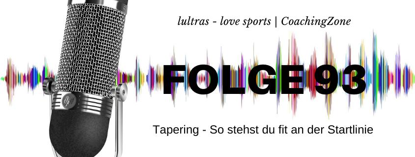 LULTRAS - love sports - Der Ausdauer-Podcast mit Hannah und Carsten - Folge 93